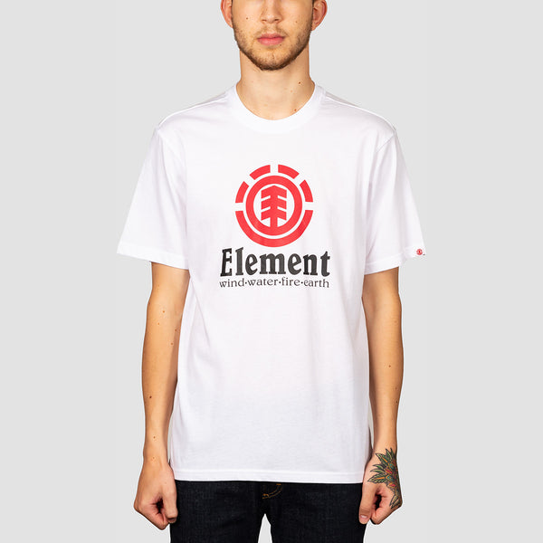 Element Vertical Tee Optic White