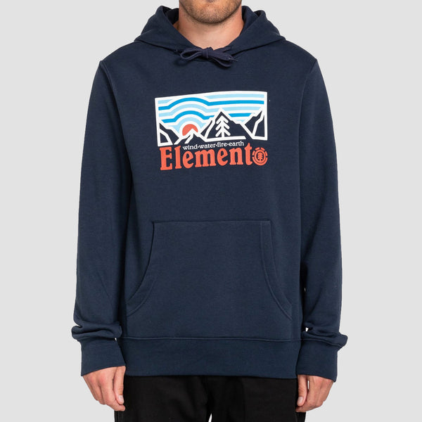 Element Wander Pullover Hood Eclipse Navy