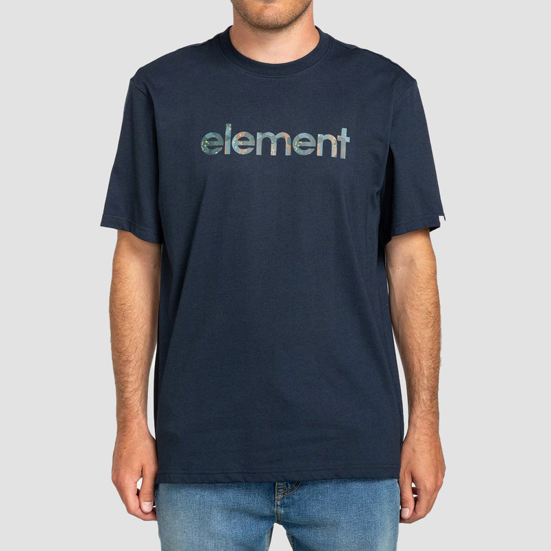 Element Water Camo Mark Tee Eclipse Navy