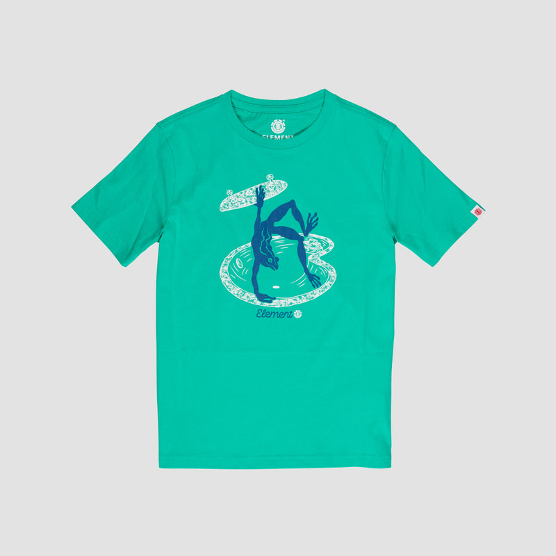 Element Wheeler Tee Mint - Kids