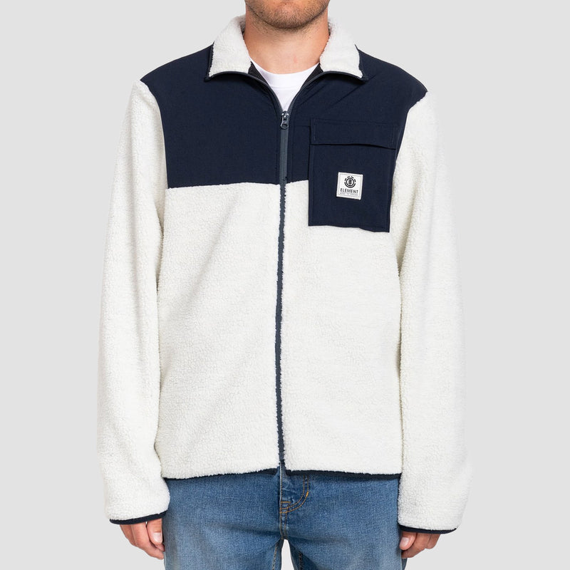 Element Wolfeboro Abenaki Zip Hood Bone White