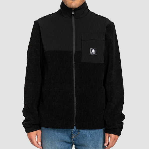 Element Wolfeboro Abenaki Zip Top Flint Black