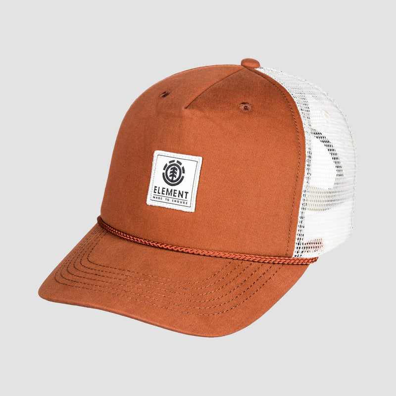 Element Wolfeboro Bark Trucker Cap Tortoise Shell