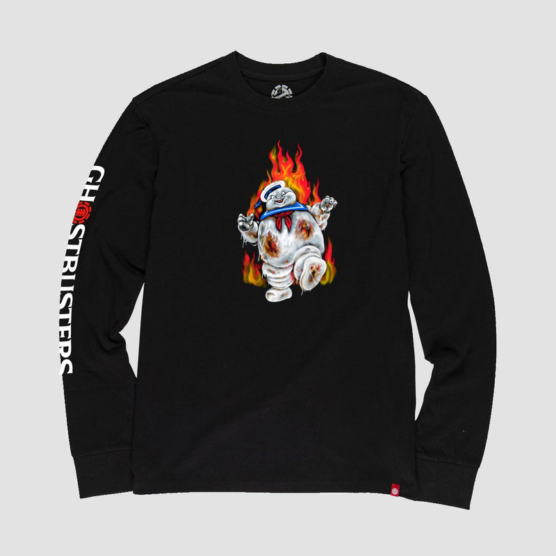 Element X Ghostbusters Inferno Longsleeve Tee Flint Black