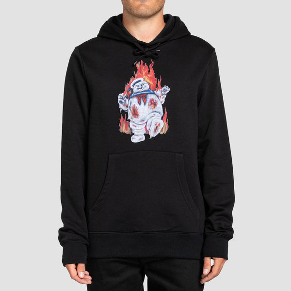 Element X Ghostbusters Inferno Pullover Hood Flint Black