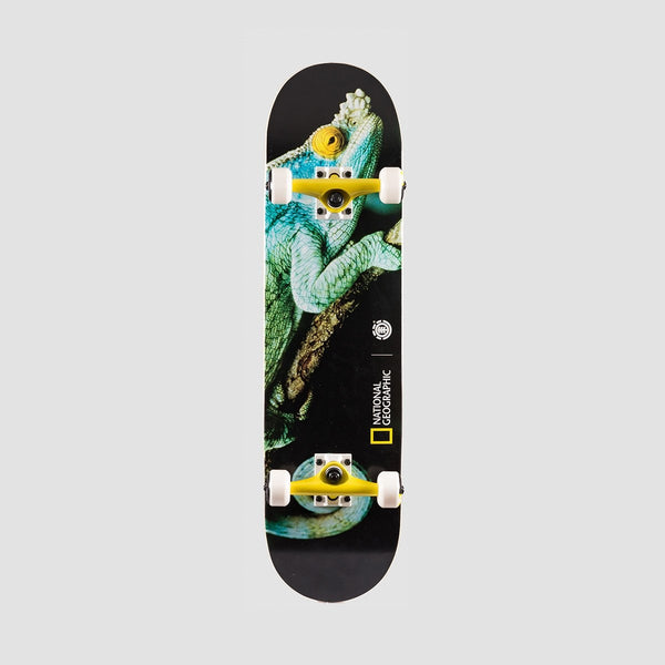 Element X National Geographic Iguana Pre-Built Complete - 8 - Skateboard