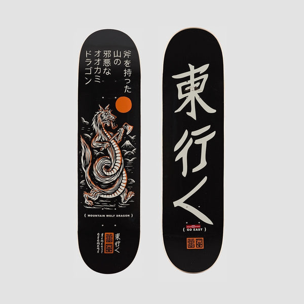 Element X Timber Wolf Dragon Deck - 8.25 - Skateboard