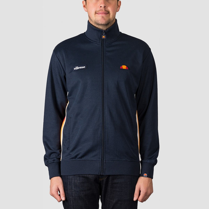 ellesse Agora Track Top Navy - Clothing