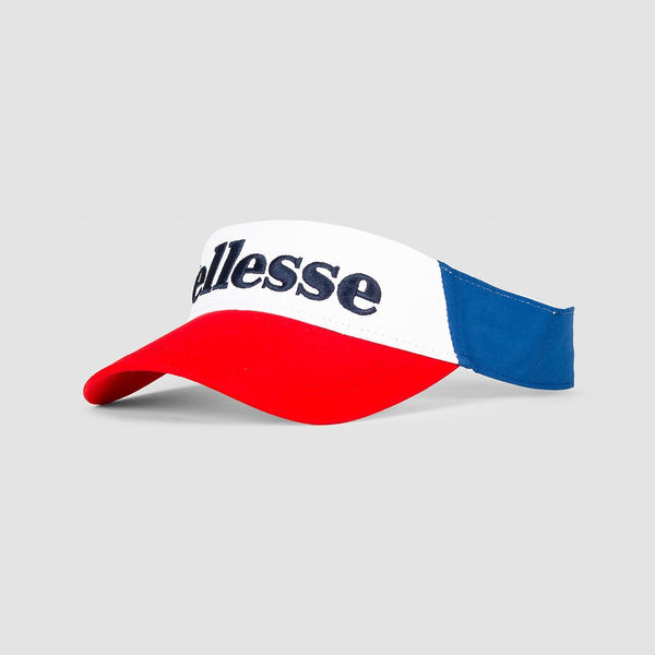 ellesse Boventa Visor Blue/Red - Unisex - Accessories