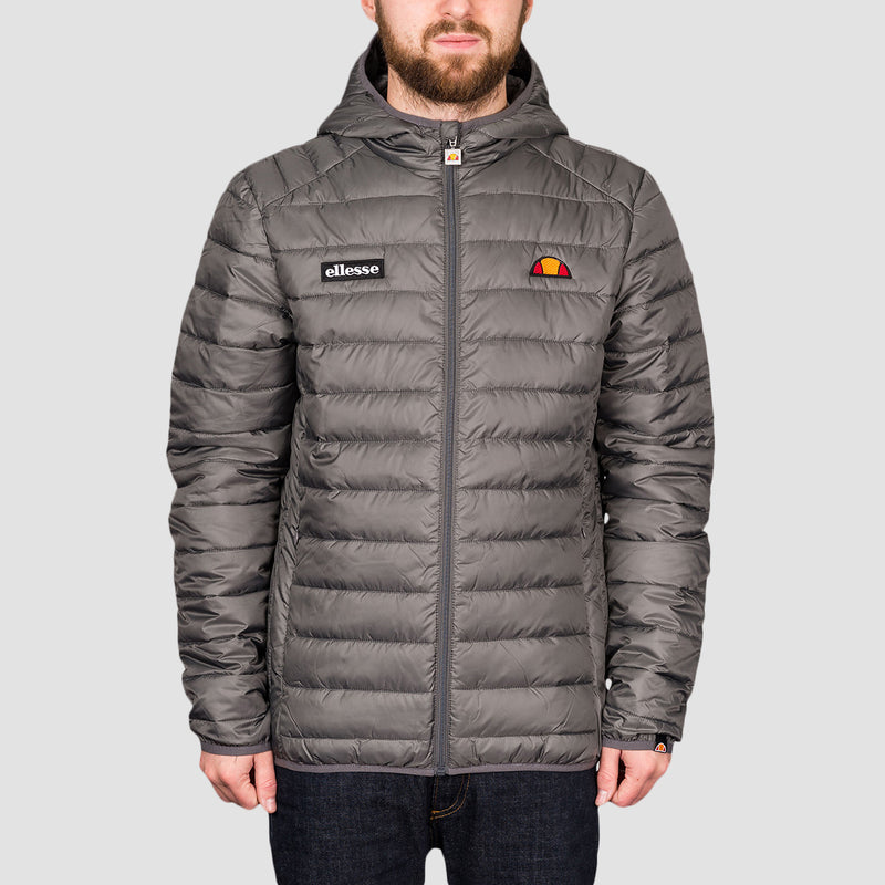 ellesse Lombardy Padded Jacket Dark Grey
