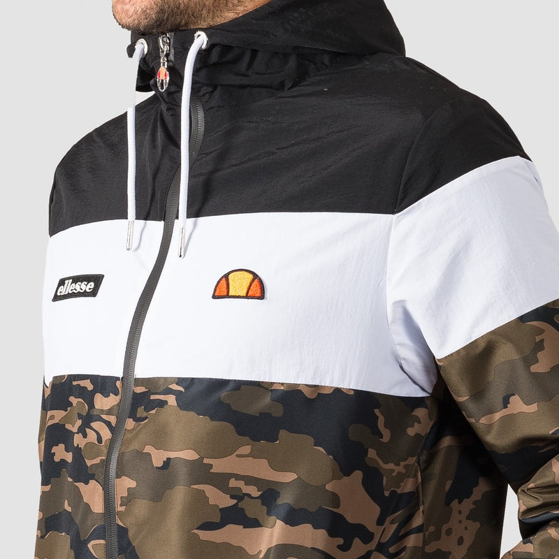 ellesse Mattar Track Top Camo - Clothing