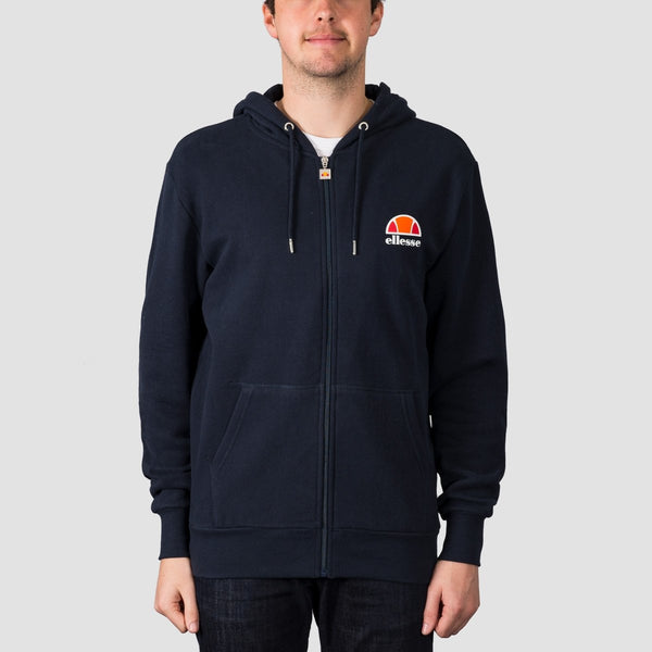 ellesse Miletto Zip Hood Navy - Clothing