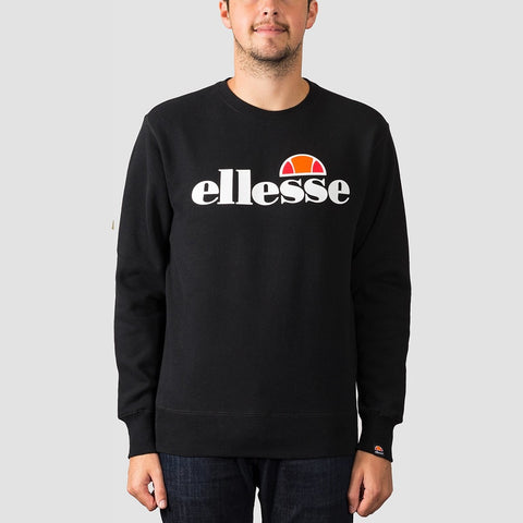 ellesse SL Succiso Crew Sweat Black