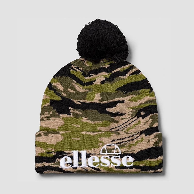 ellesse Velly Pom Pom Beanie Camo - Unisex - Accessories