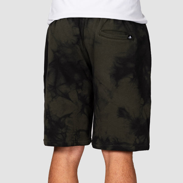 Emerica Blur Fleece Shorts Black