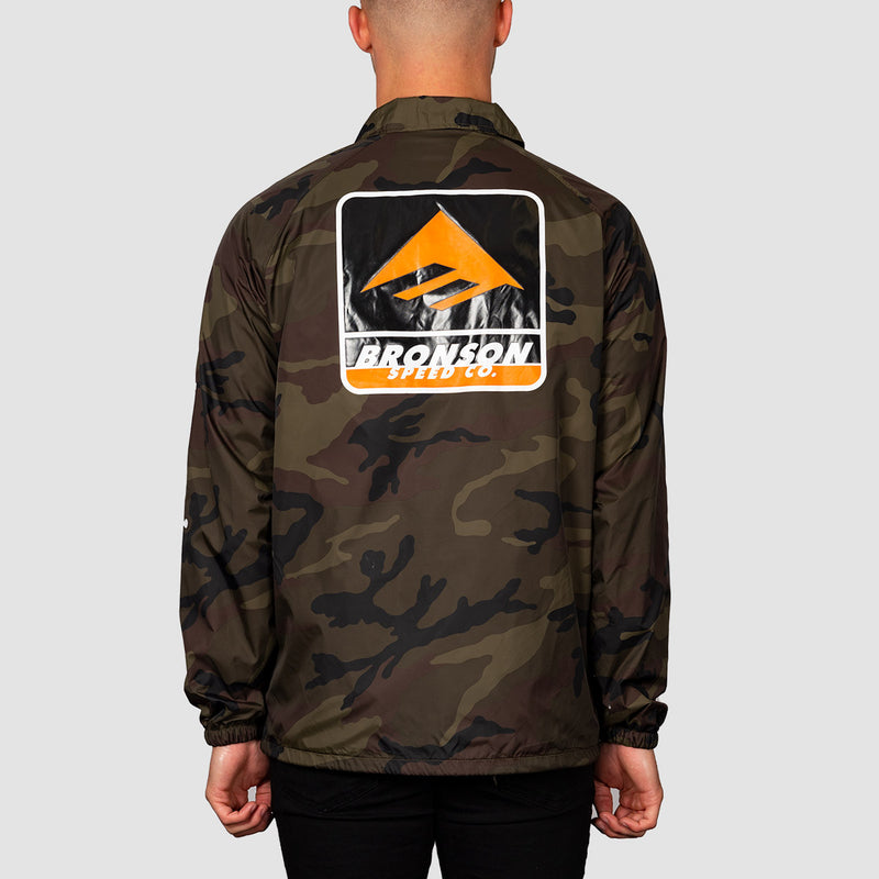 Emerica Bronson Coaches Jacket Camo