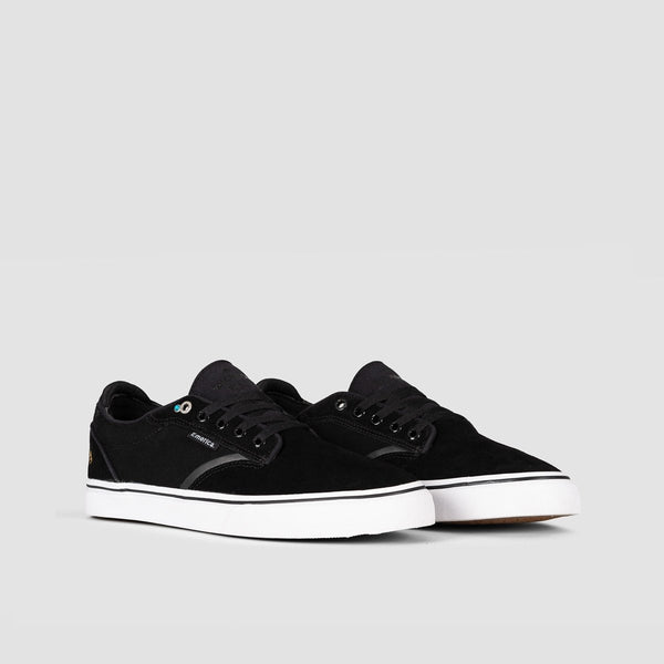 Emerica Dickson Black/White/Gold - Footwear