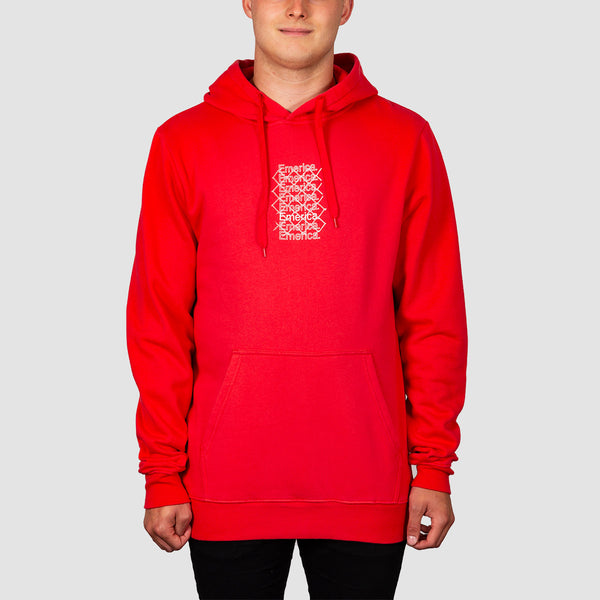 Emerica Link Pullover Hood Red