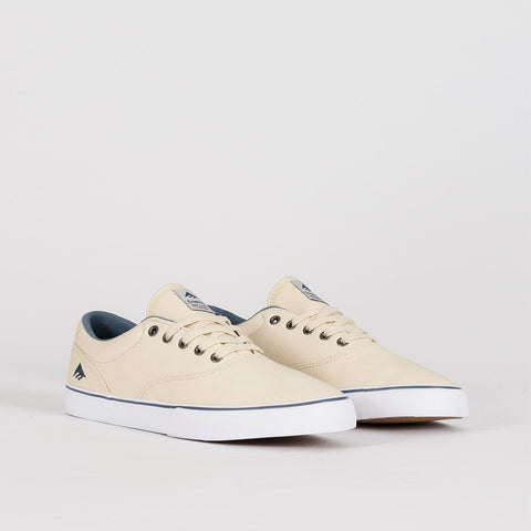 Emerica Provost Slim Vulc White/Blue - Footwear