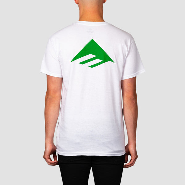 Emerica Pure Triangle Tee White