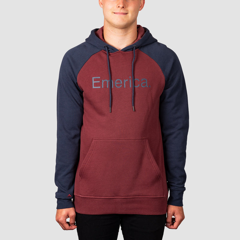 Emerica Purity Pullover Hood Oxblood
