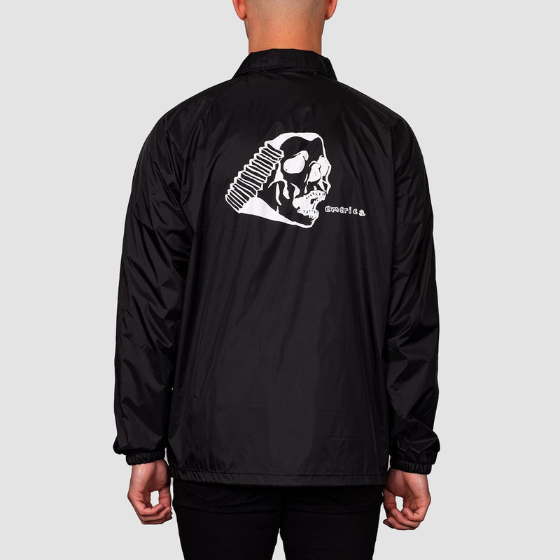 Emerica Spanky Skull Jacket Black