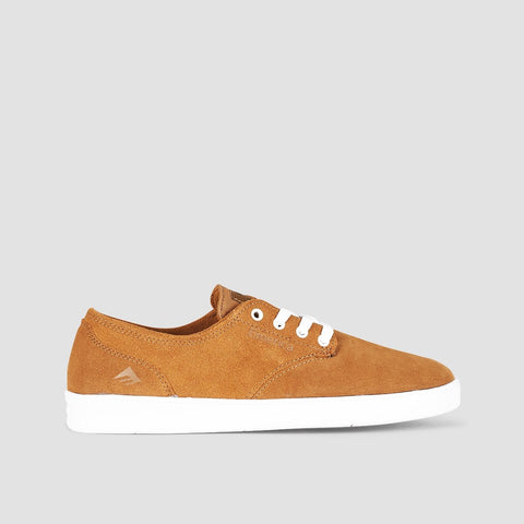 Emerica The Romero Laced Brown/White/Gum - Kids