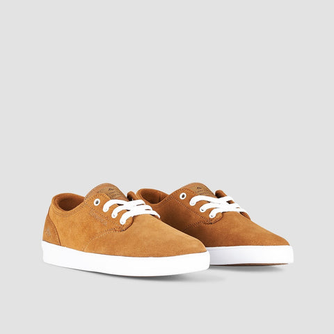 Emerica The Romero Laced Brown/White/Gum - Kids - Footwear