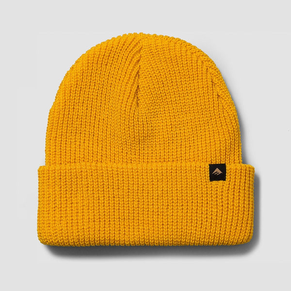 Emerica Triangle Cuff Beanie Gold - Accessories