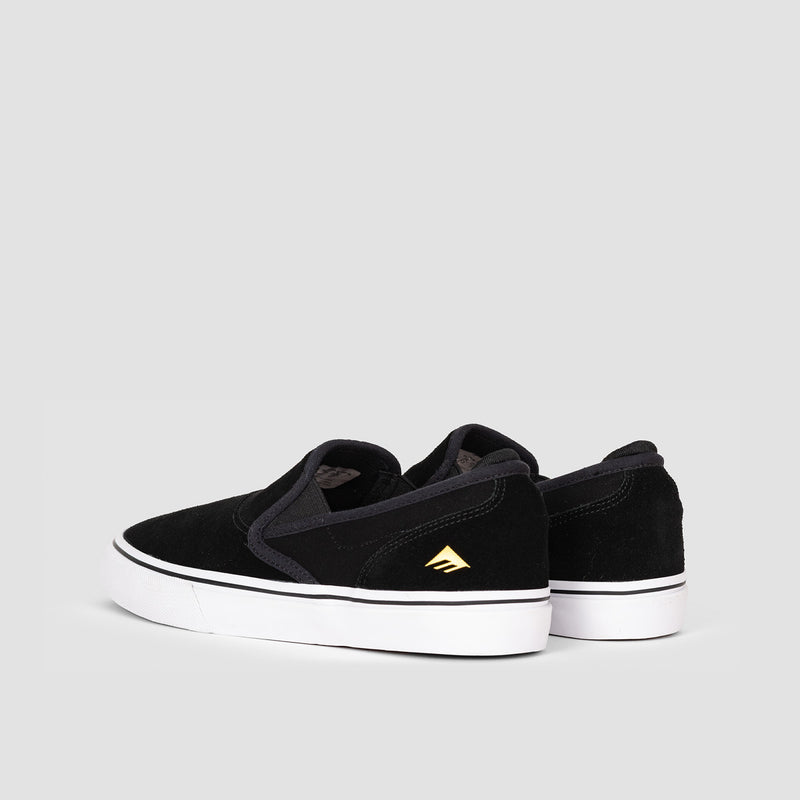 Emerica Wino G6 Slip-On Black/White/Gold