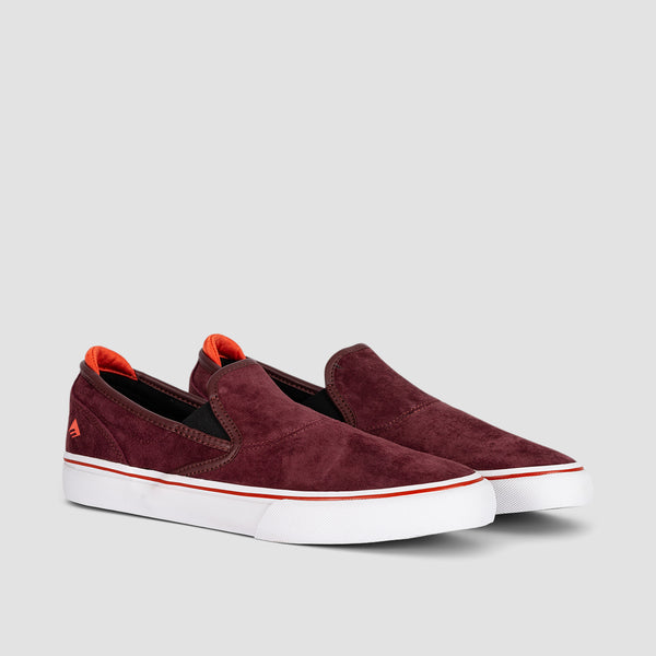 Emerica Wino G6 Slip-On Burgundy