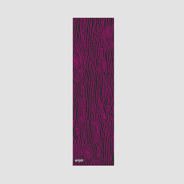 Enjoi Against The Grain Grip Tape Black/Pink