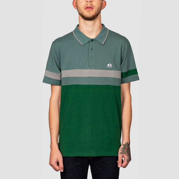 Enjoi Big Block Polo Shirt Olive