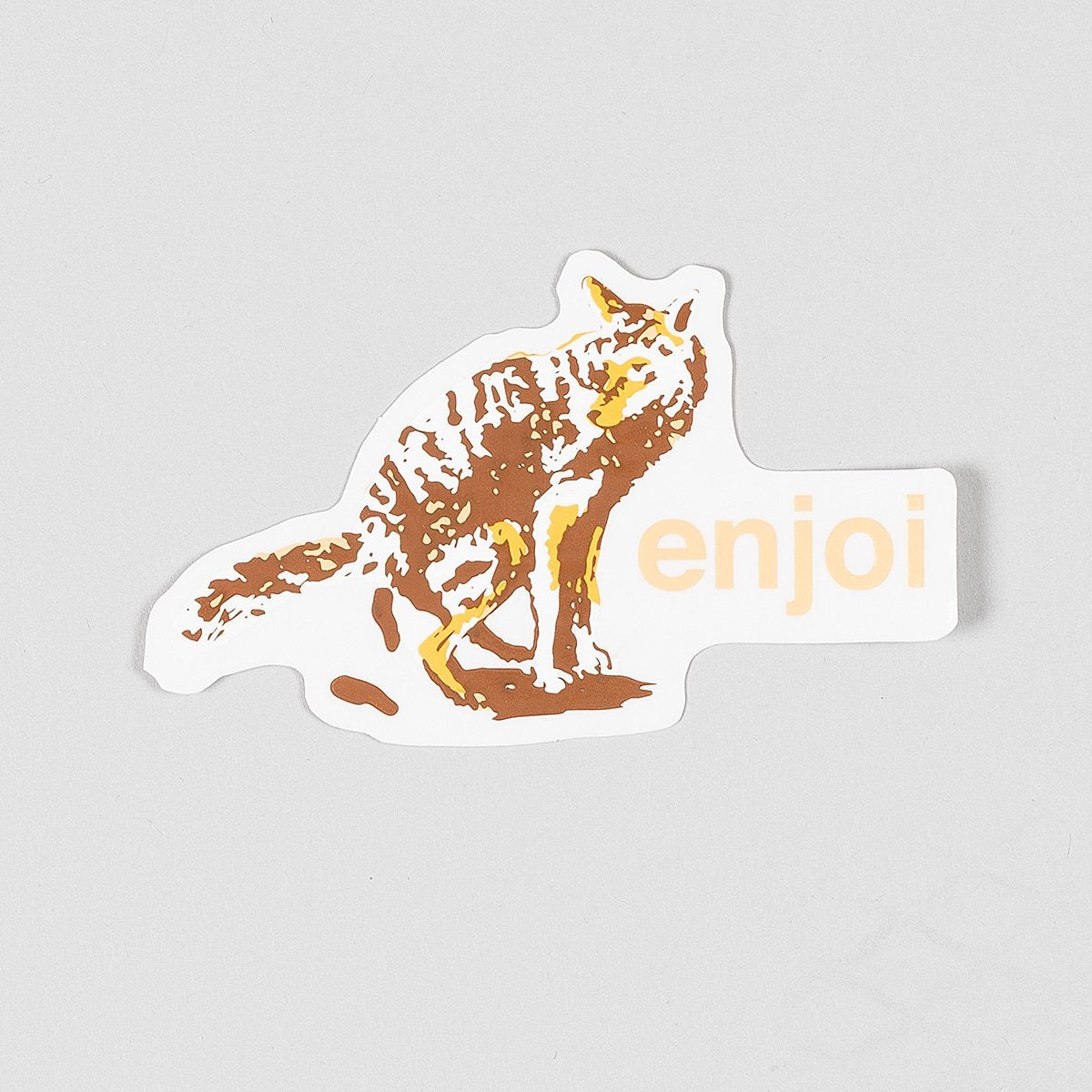 Enjoi Dog Pooper 3 Sticker Multi - Skateboard
