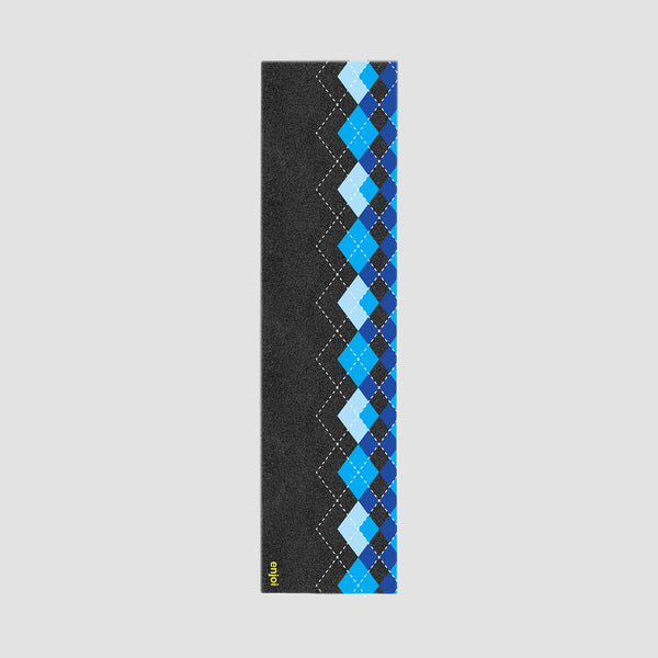 Enjoi Enjargyle Grip Tape Black/Blue - 9""