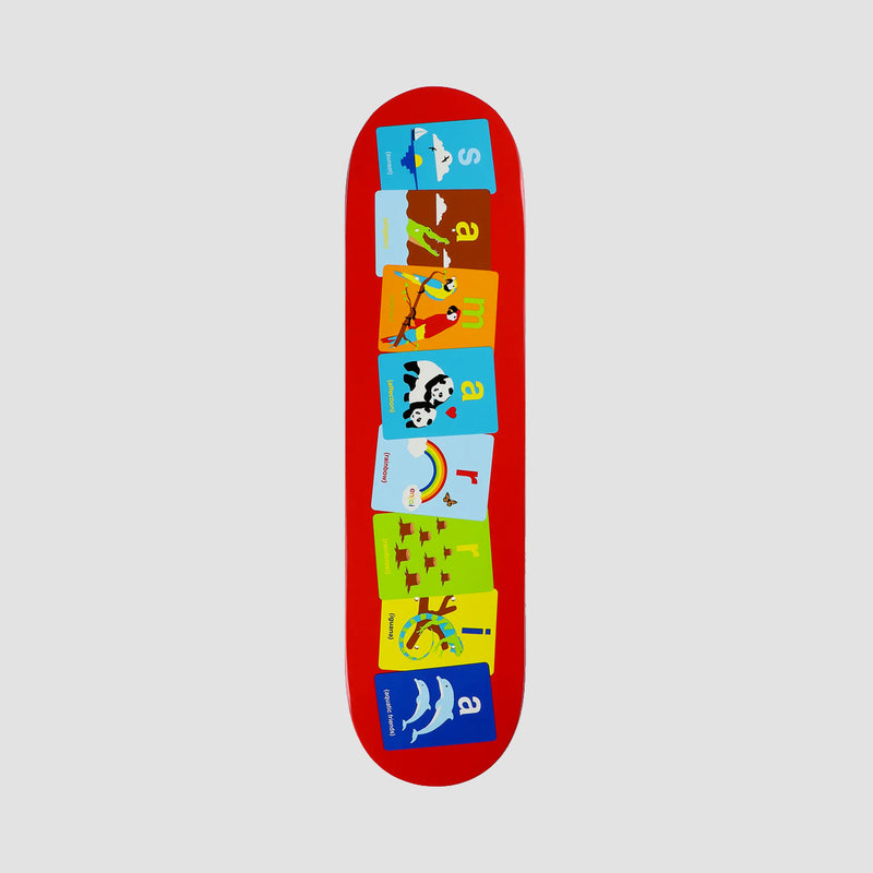 Enjoi Flashcards R7 Deck Samarria Brevard - 8""