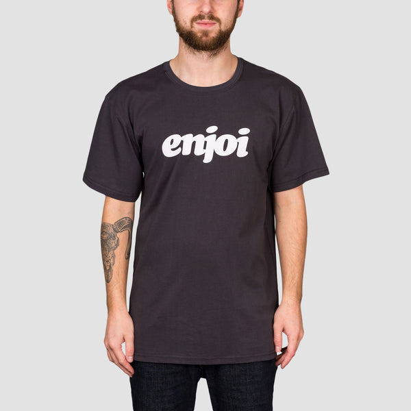 Enjoi Flocked Premium Tee Vintage Black