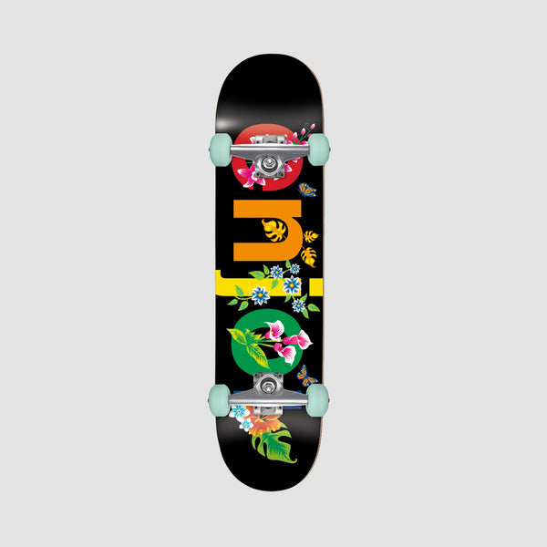 Enjoi Flowers Resin Premium Pre-Built Complete Black - 8""