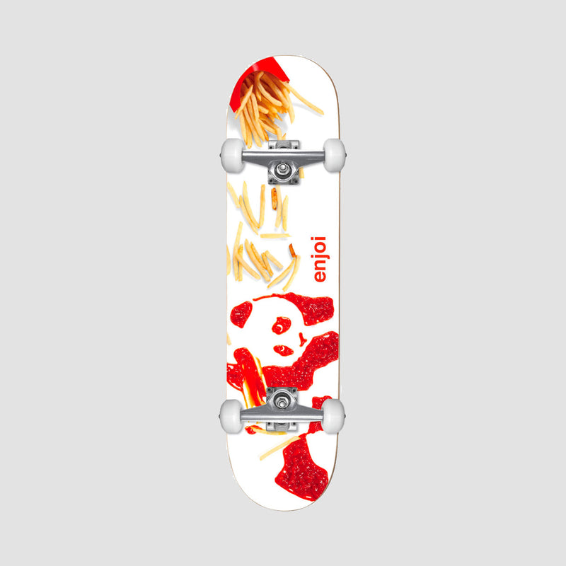 Enjoi Fries FP Mini Pre-Built Complete White - 7""