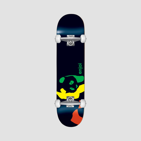 Enjoi Rasta Panda FP Mini Pre-Built Complete Black - 7""