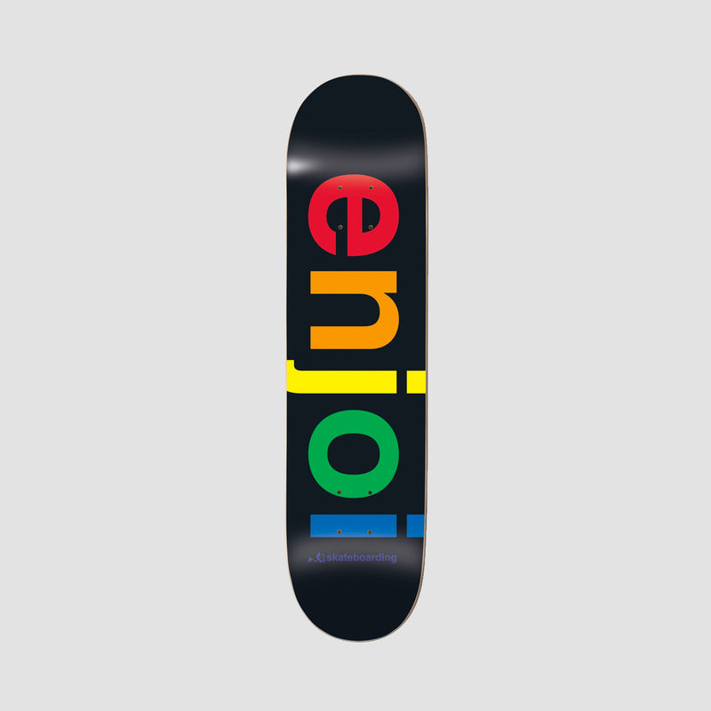 Enjoi Specturm R7 Deck Black - 8.25""