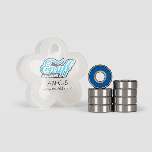 Enuff Abec-5 Water Resistant Bearings Blue - Skateboard