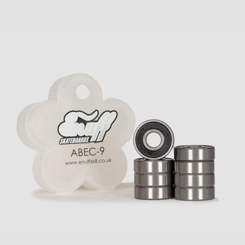 Enuff Abec-9 Bearings Black - Skateboard