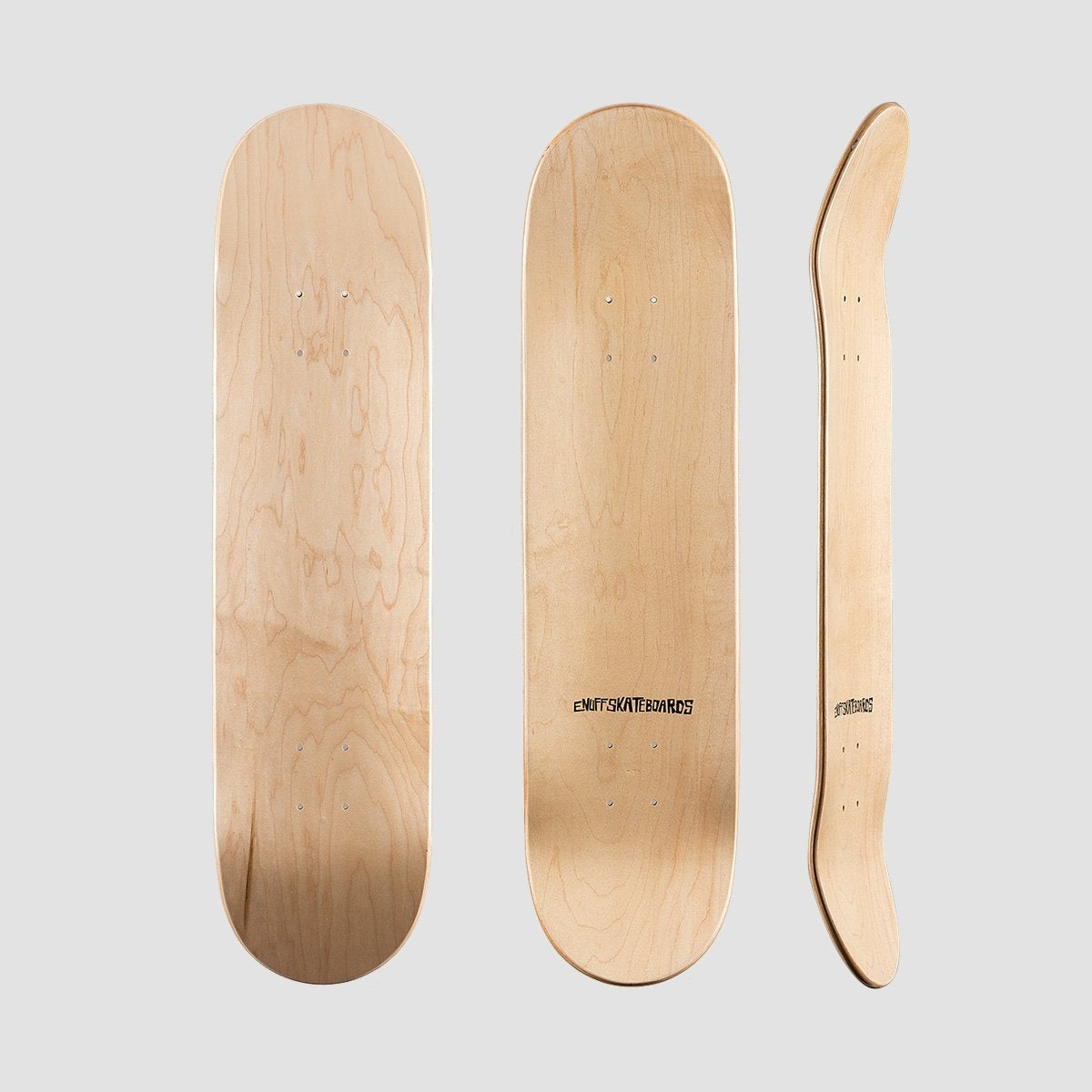 Enuff Classic Deck Natural - 7.75 - Skateboard