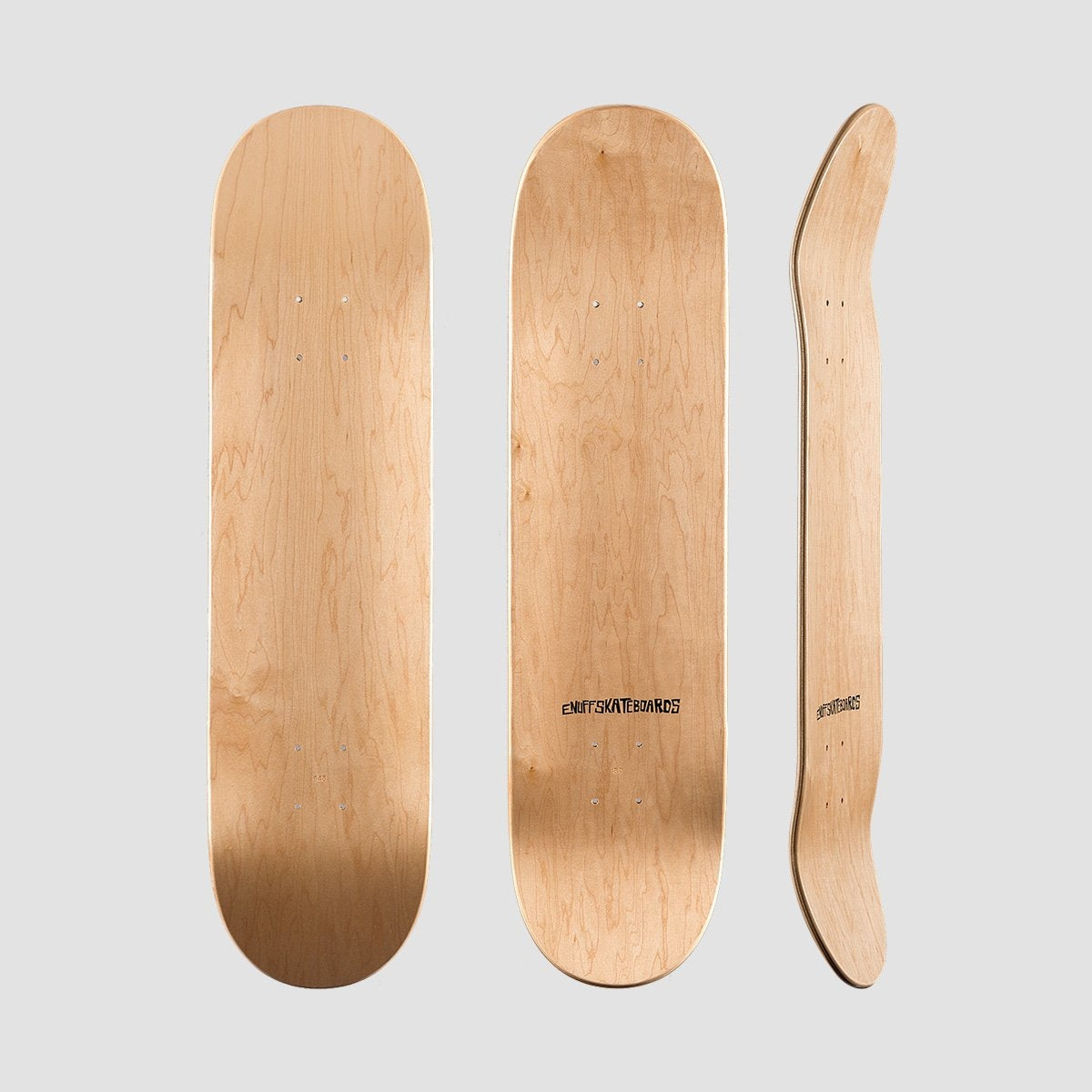 Enuff Classic Deck Natural - 8.0 - Skateboard