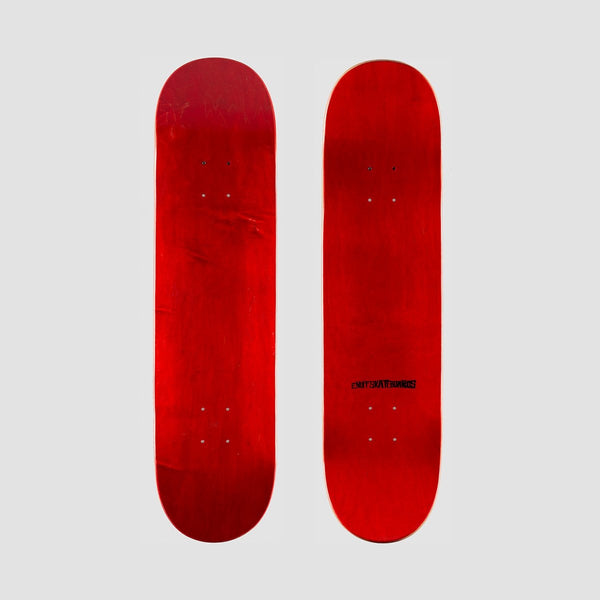 Enuff Classic Deck Red - 8.25 - Skateboard