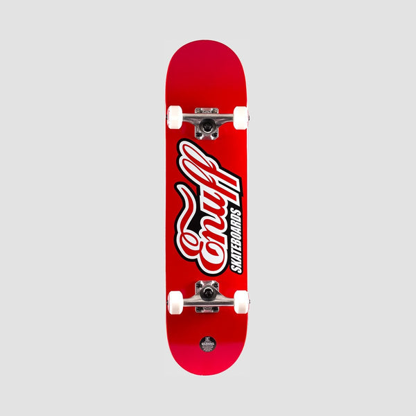 Enuff Classic Logo Pre-Built Complete Red - 7.75 - Skateboard