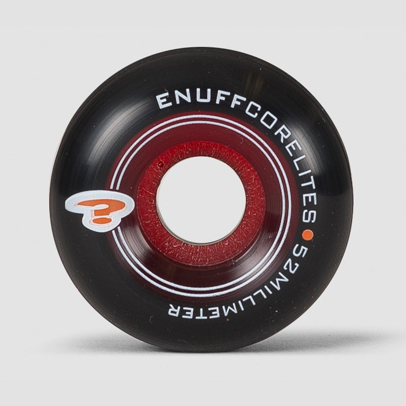 Enuff Corelites Wheels Black/Red 52mm - Skateboard