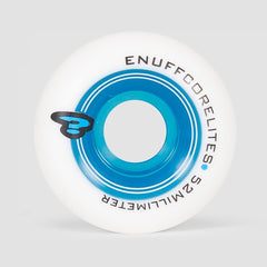 Enuff Corelites Wheels White/Blue 52mm - Skateboard