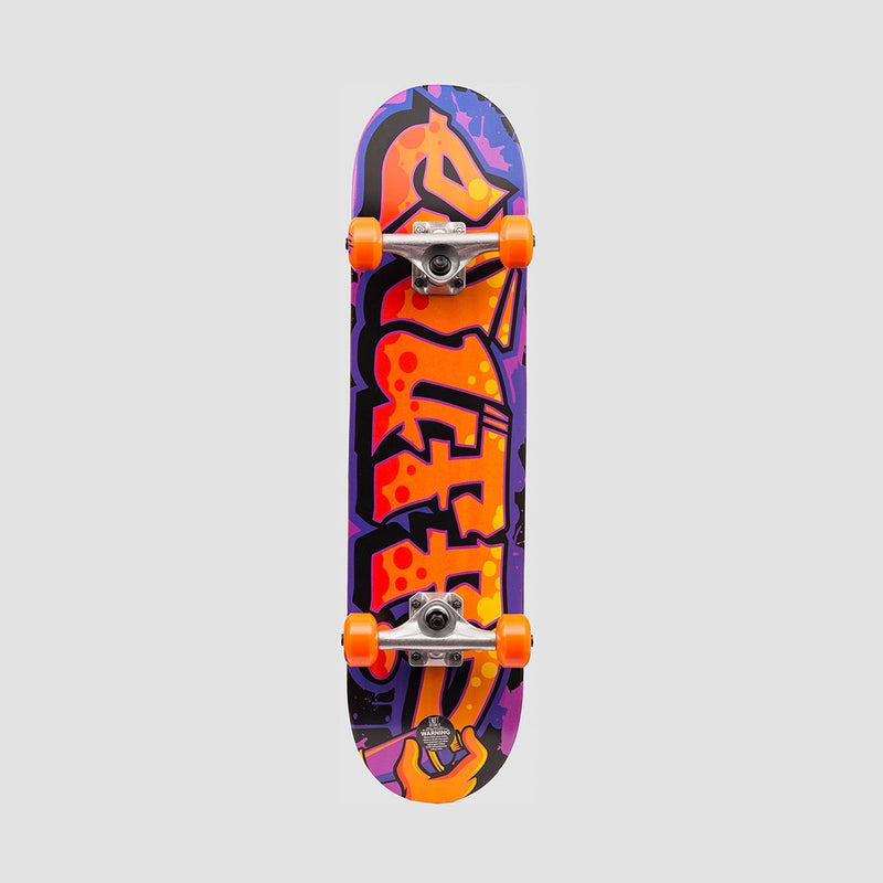 Enuff Graffiti II Mini Pre-Built Complete Orange - 7.25 - Skateboard